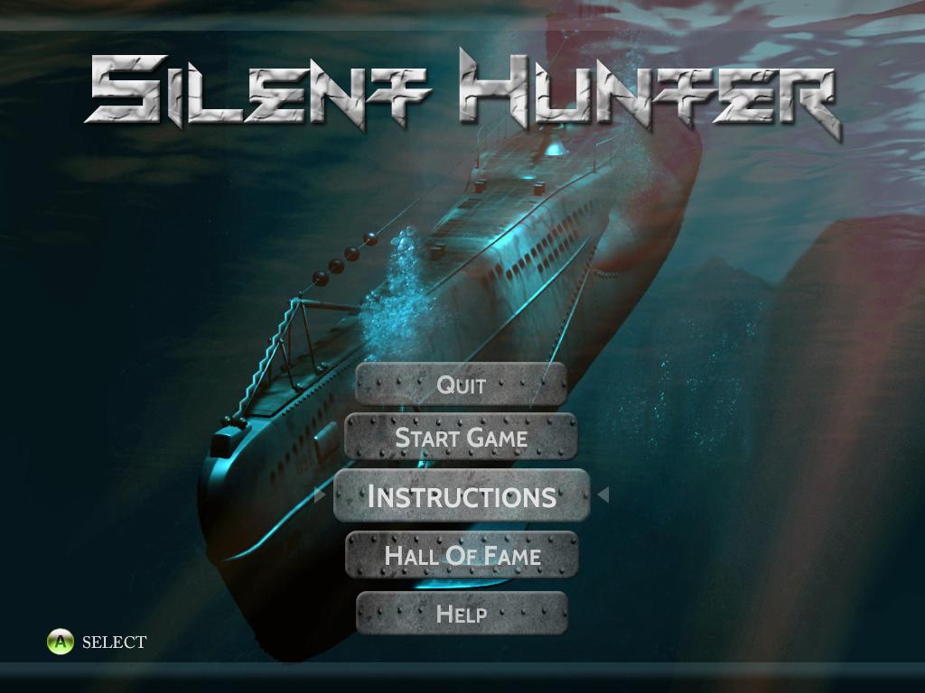 Designing UI For Silent Hunter Photoshop Project Wewejune - Game menu design